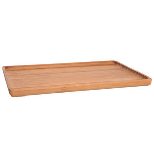 M & T  Serving tray  bamboo  wood 21,5 x 15 x 1,6 cm