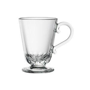 LA ROCHERE  Koffie- theeglas op voet 25 cl Louison