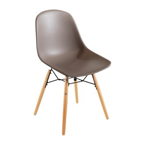M & T  Chair brown polypropylene