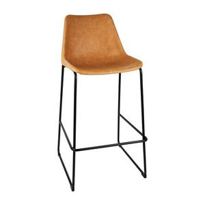 M & T  High stool with camel seat