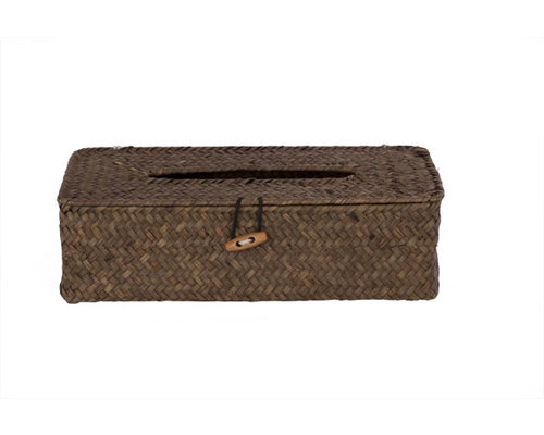 M & T  Cosmetic box holder natural seagrass
