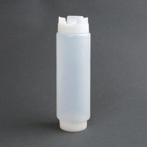 M & T  Squeeze bottle clear 45 cl