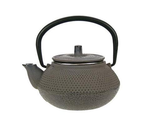 M & T  Teapot 30 cl grey cast iron