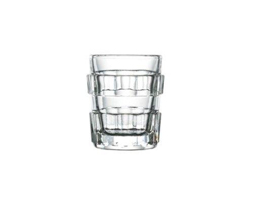 LA ROCHERE  Shot glass / shooter 6 cl set of 8 assorted