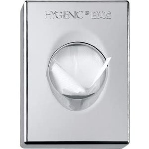 M&T Houder voor hygiene zakjes verchroomd ABS