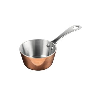 VOGUE  Mini saucpan 8,5 cm copper / stainless steel