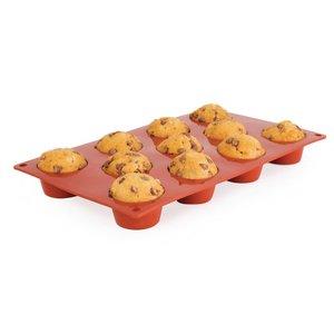 PAVONI  Patisserie vorm flexibel anti-aanbak silicone voor 11 mini muffins