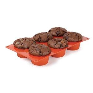 PAVONI  Patisserie vorm flexibel anti-aanbak silicone voor 6 muffins