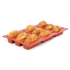 PAVONI  Patisserie vorm flexibel anti-aanbak silicone voor 9 mini cakes