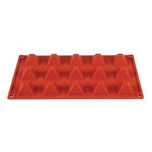 PAVONI  Patisserie vorm flexibel anti-aanbak silicone voor 15 pyramides