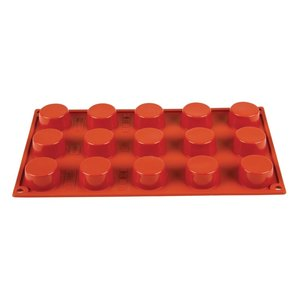 PAVONI  Pastry mould flexible silicone 15 petits fours