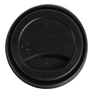 FIESTA GREEN Deksel voor koffiebeker 35 cl dubbelwandig ( verpakking 50 stuks )