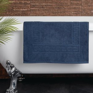M & T  Bath mat 50 x 80 cm Navy blue