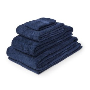 M & T  Bath sheet 100 x 150 cm Navy blue