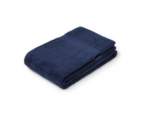M & T  Bath sheet  70 x 137 cm Navy blue