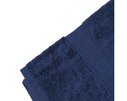 M & T  Badlaken 70 x 137 cm Navy blauw