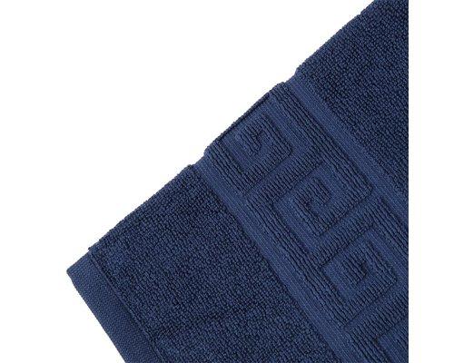 M & T  Badhanddoek 50 x 90 cm Navy blauw