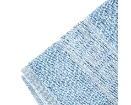 M & T  Badmat 50 x 80 cm blauw