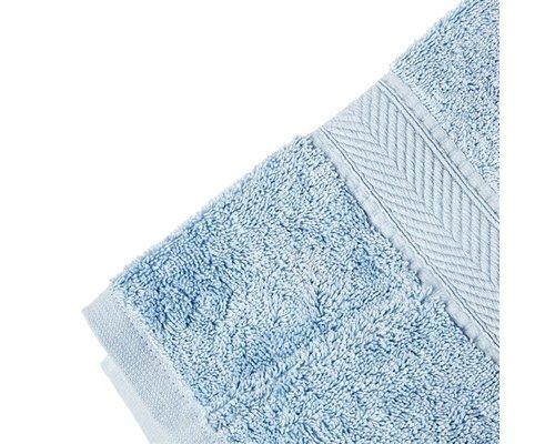 M & T  Badlaken 70 x 137 cm blauw