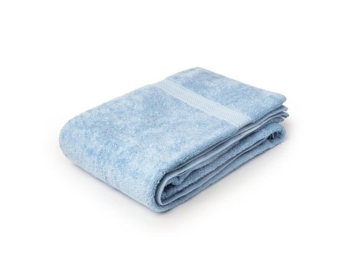 M & T  Badhanddoek 50 x 90 cm  blauw