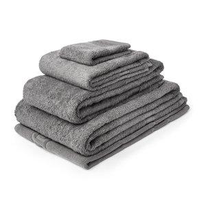 M & T  Bath sheet  70 x 137 cm slate grey
