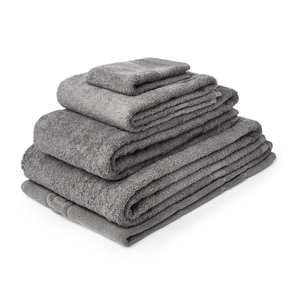 M & T  Bath towel 50 x 90 cm Slate grey