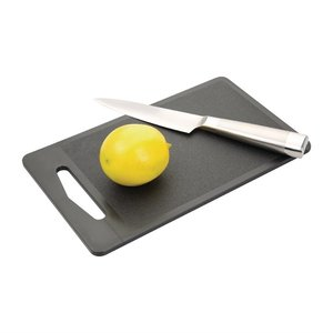 M & T  Cutting board 25 x 15 x 0,7 cm black