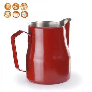 LACOR Pot crémier inoxydable 50 cl  rouge