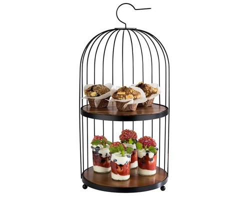"M & T  Buffet stand  "" Bird cage  """