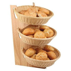 M & T  Buffet stand with 3 baskets