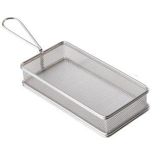 M & T  Frying & serving basket rectangular shape