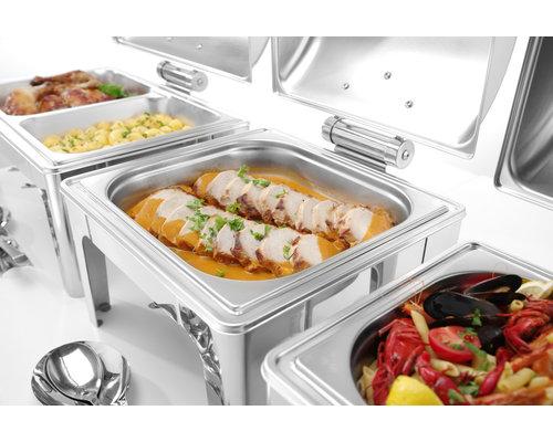 M & T  Chafing dish GN 2/3 hoogglanzend rvs