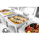 M & T  Chafing dish GN 1/2 mirror finish
