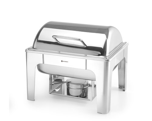 M & T  Chafing dish GN 1/2 hoogglanzend rvs