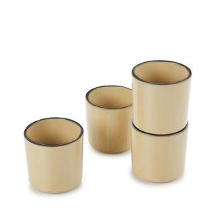 REVOL  Espresso cup 8 cl Caractère Nutmeg