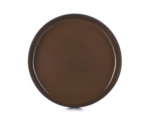 REVOL  Bord / bowl met hoge rand 23 cm x 3,3 cm Caractère Gourmande Tonka