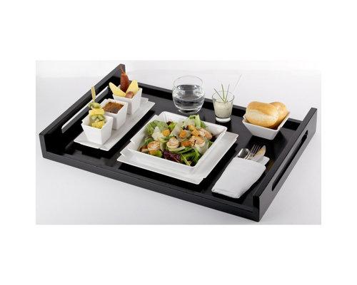 REVOL  Dienblad 60 x 40 cm  Inspired zwart gelakt hout
