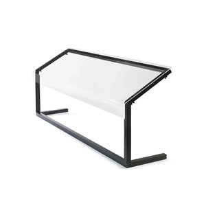 M & T  Ademschot buffet 3/1 GN, 3mm plexi glas Afmetingen :  1244 x 350 x h 673 mm