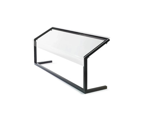 M & T  Buffet screen  3/1 GN 3mm plexi glass dim. 1244 x 350 x h 673 mm