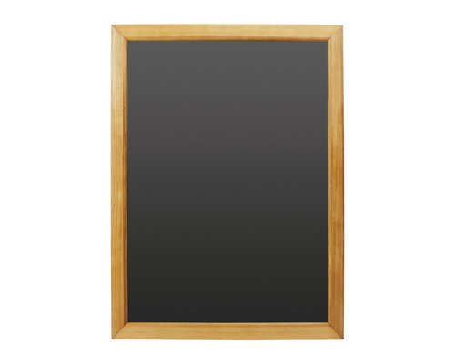 M & T  Chalkboard melamine surface with pine wood frame  60 x 80 cm