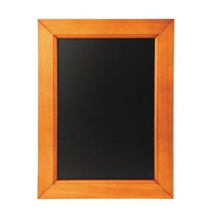 M & T  Chalkboard melamine surface with pine wood frame  30 x 40 cm