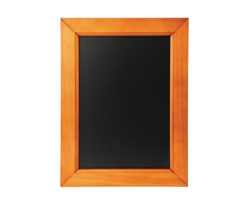 M & T  Chalkboard melamine surface with pine wood frame  30 x 40 cm