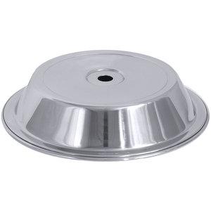 M & T  Klok voor een bord met diameter van 23,5 cm  tot 24,3 cm Hoogte 4,5  cm