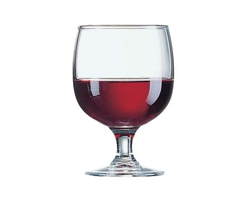 ARCOROC  Footed glass stackable 32 cl