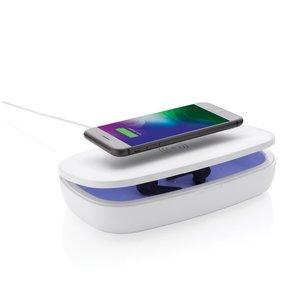 M & T  UV-C desinfectie box met 5 Watt draadloze iPhone oplader