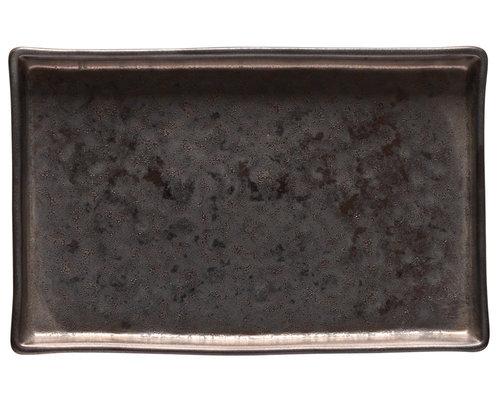 COSTA NOVA  Rechthoekig  schaaltje 19 x 12,5 cm  Lagoa Metal Black