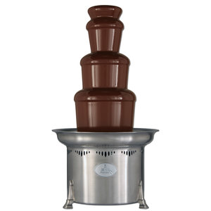 M & T  Chocolade fountain for 150 till 250 guests