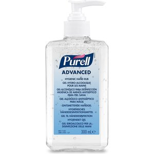 PURELL Disinfected hand gel 300 ml bottle with pump Advanced