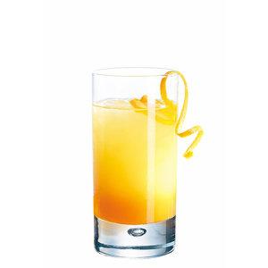 BORMIOLI ROCCO  Longdrink  glas 37,5 cl  met zware bodem  Disco