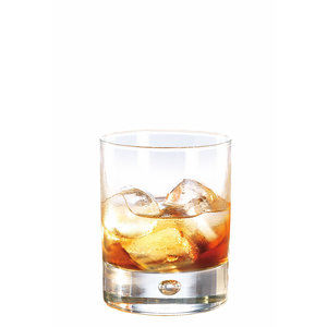 BORMIOLI ROCCO  Whisky & juice  glass 19,5 cl with thick bottom Disco
